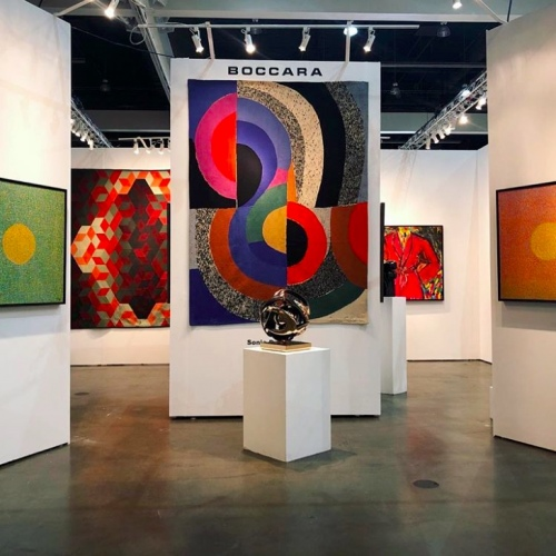 BOCCARA at LA Art Show, Modern + Contemporary